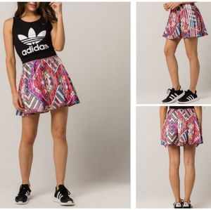 Adidas Originals A Line Printed Skirt Size XSS NWT